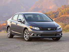 Honda USA: Přepracovaný Civic dorazí na americký trh na konci roku 2012