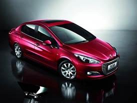 Peugeot 308 Sedan: Tříprostorová novinka pro Čínu