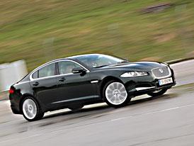 Jaguar XF a XFR: První jízdní dojmy