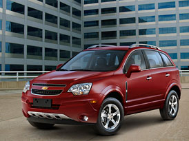 Chevrolet Captiva Sport: V USA s tváří Opelu Antara