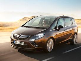 Opel Zafira Tourer: Nové fotografie, technická data