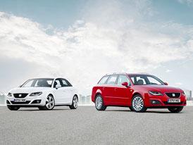 SEAT Exeo (2012): Modernizovaná střední třída na nových fotografiích