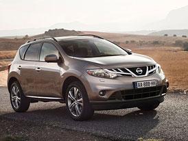 Nissan Murano: Lehká modernizace pro rok 2012