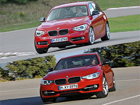 BMW 1 vs. BMW 3: Designový duel