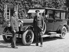Poklady prezidentsk� gar�e: V �em jezdil Tom� Garrigue Masaryk?