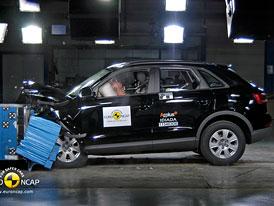 Euro NCAP 2011: Audi Q3 – Letos pět hvězd, čtyři v roce 2012