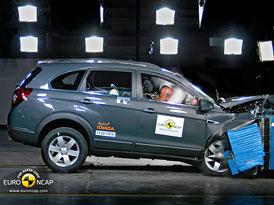 Euro NCAP 2011: Chevrolet Captiva – 5 hvězd letos, 4 od příštího roku