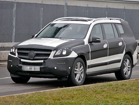 Mercedes-Benz GL (X166): Velký medvěd přijede z Alabamy na podzim