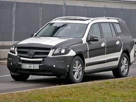 Mercedes-Benz GL (X166): Velk� medv�d p�ijede z Alabamy na podzim
