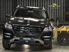 Euro NCAP 2011: Mercedes-Benz t��dy M � P�t hv�zd bez dal��ch pozn�mek