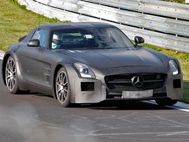 Mercedes-Benz SLS AMG Black Series: Černá série má pokračování (video)