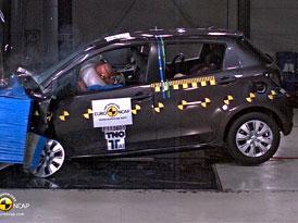 Euro NCAP 2011: Toyota Yaris – Pět hvězd letos i v roce 2012