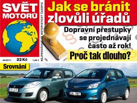 Svět Motorů 44/2011: Suzuki Swift vs. Toyota Yaris
