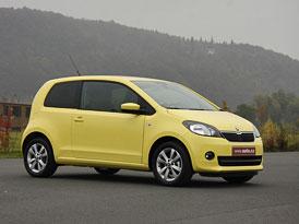 Škoda Citigo: První jízdní dojmy