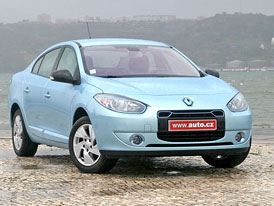 Renault Fluence Z.E.: Prvn� j�zdn� dojmy