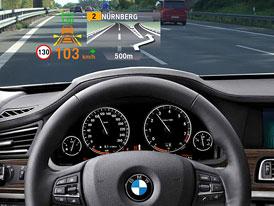 BMW: Head-up displej nově v barvách
