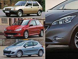 Napříč generacemi: Peugeot 205, 206, 207, 208 – Lvíče v toku času