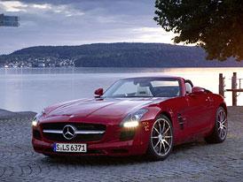 Video: Mercedes-Benz SLS AMG Roadster – Staticky i v akci