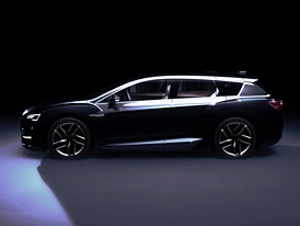 Subaru Advanced Tourer Concept: Hybridní Legacy?
