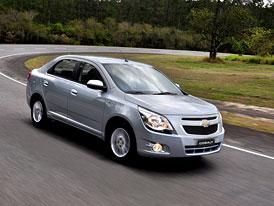 Chevrolet Cobalt: Jihoamerický Logan pro 40 trhů světa