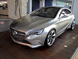 Mercedes-Benz Concept A: Nov� t��da A v Praze