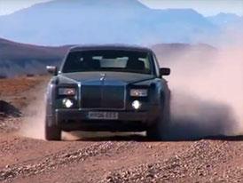 Rolls-Royce Phantom: 5.000 mil napříč Jižní Amerikou na videu