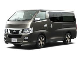 Nissan NV350: Nový van pro Asii