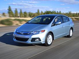 Honda Insight 2012: Nové fotografie modernizované verze