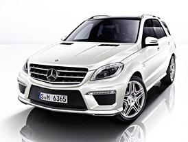 Mercedes-Benz ML63 AMG (2012): Silnější a úspornější