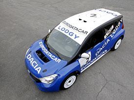 Dacia Lodgy Glace: Nová rodinná Dacia nejprve v závodním