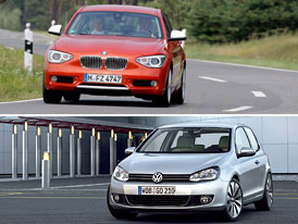 BMW 1 vs. VW Golf: Co koupit?