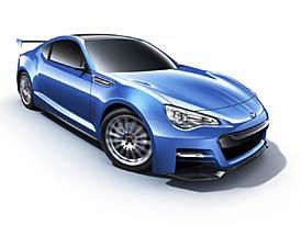 Subaru BRZ Concept STI: Ostrá zadokolka oficiálně