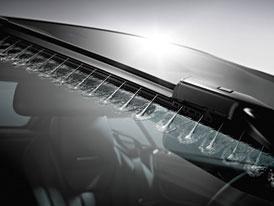 Nové stěrače pro nový Mercedes-Benz SL: Ostřikovače stříkají!