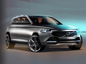 Volvo XC90: Druhá generace na oficiálních skicách