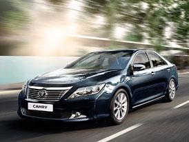 Toyota Camry: Výroba v Rusku zahájena