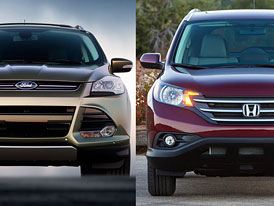 Designový duel: Ford Escape vs. Honda CR-V