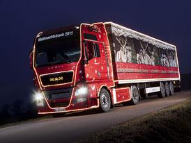 MAN: Vánoční tahače vyrážejí na cestu