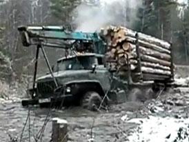 Brodící videoseriál (1. díl): Ural a Zil si poradí všude