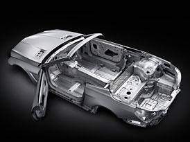 Nový Mercedes-Benz SL dostane až o 140 kg lehčí karoserii