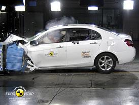 Euro NCAP 2011: Geely Emgrand EC7 – Čtyři hvězdy Čínu!