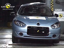 Euro NCAP 2011: Renault Fluence Z.E. � �ty�i hv�zdy pro elektrick� sedan