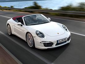 Porsche 911 Carrera Cabriolet (991): První fotografie