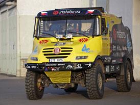 InstaForex Loprais Team veze Tatry na Dakar 2012