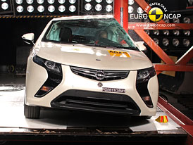 Euro NCAP 2011: Chevrolet Volt – Pět hvězd