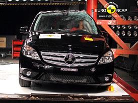 Euro NCAP 2011: Mercedes-Benz B � P�t hv�zd