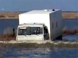 Brodící videoseriál (2. díl): Kamaz a Ural na řece Ili