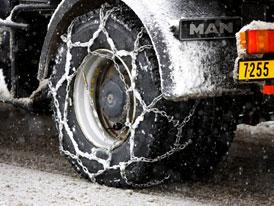 Auto a zima: Sněhové řetězy jsou stále neporazitelné