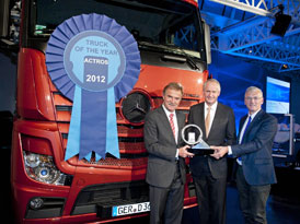 Truck of the Year 2012: Mercedes-Benz Actros