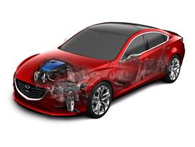 Mazda i-ELOOP: Místo baterií kondenzátor