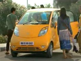 Tata Nano (2012): Absolutn� pohoda na cest�ch i necest�ch - Prvn� reklama (video)